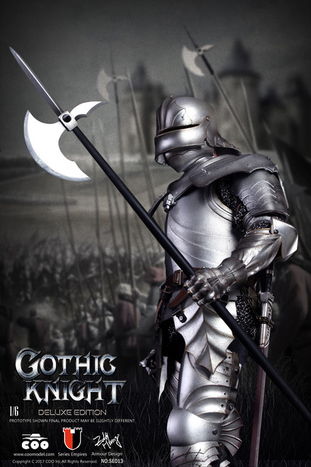[CM-SE013] COO Model Series of Empires Diecast Alloy Gothic Knight (Exclusive Edition)