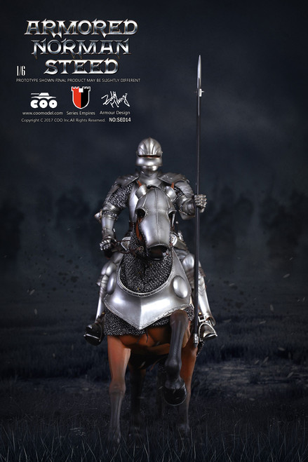 [CM-SE014] COO Model Series of Empires 1:6 Armored Norman Steed