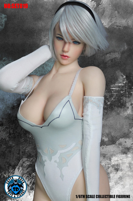[SUD-SET019] Super Duck 1/6 Cyborg Cosplay Women's Clothing