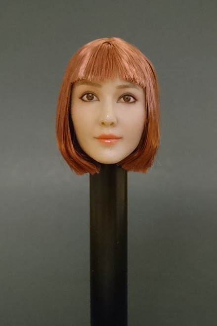 [PK-1735] Peak Toys 1/6 Custom Female Head Sculpt
