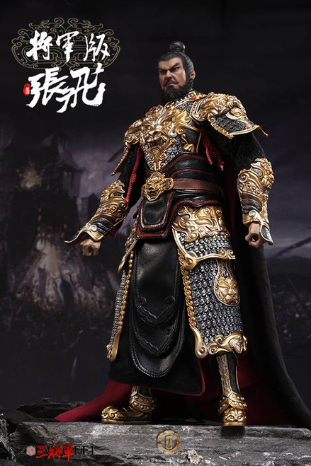 [OS-1515] O-Soul Toys 1/6 Three Kingdoms Zhang Fei General  Version