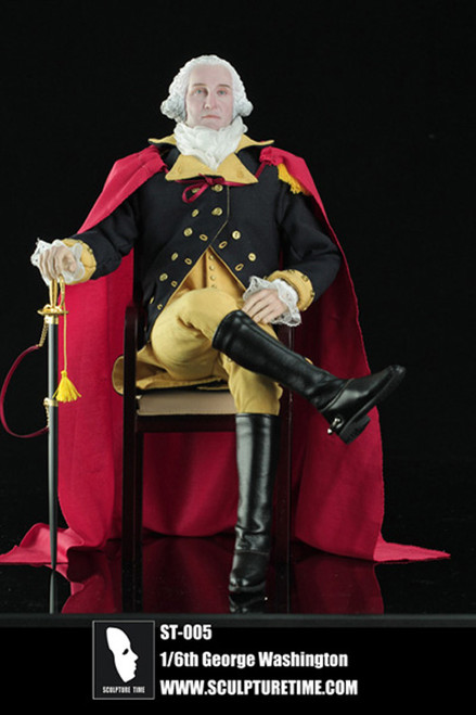 [ST-005] SCULPTURE TIME President George Washington Special Edition (500 PCS World Wide)