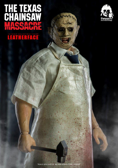 [3A-3Z0042] threezero The Texas Chain Saw Massacre Leatherface 1/6 Figure