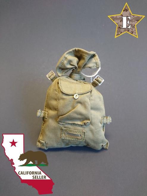[TC-9001B] Soviet Russian Red Army Soldier Canvas Backpack Rucksack Veshmeshok