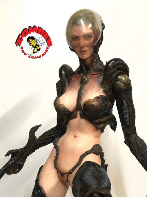[ZTC-AG] ZomBee Toy Company 1:4 Alien Girl Resin Cast Model