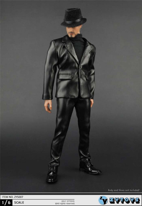 [ZY-5007] ZY TOYS 1/6 Action FIgure Leather Suit