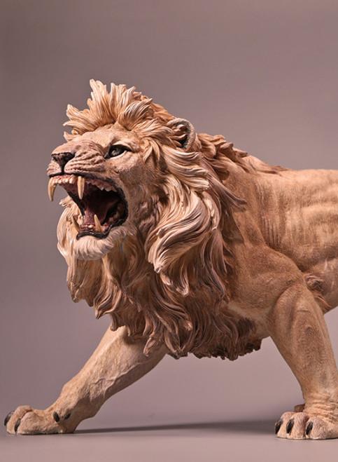 [JX-KL002] JxK.Studio 1:6 Light Yellow-Brown African Lion