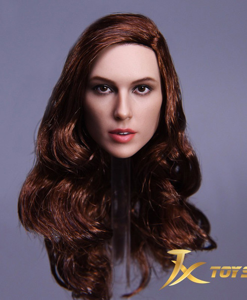 [JXT-09A] JXtoys Female Wonder Warrior 1/6 Head