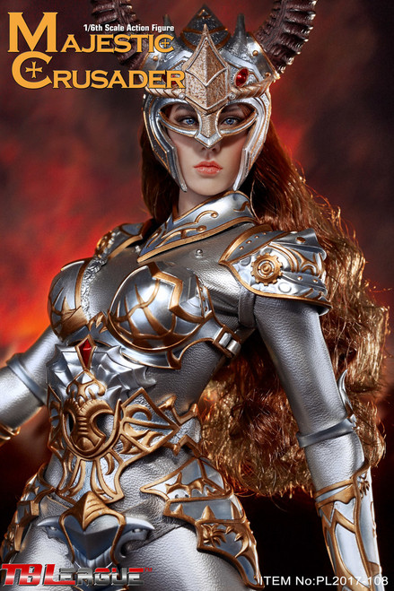 [PL2017-108] TBLeague Phicen Majestic Crusader 1/6 Figure with Seamless Body
