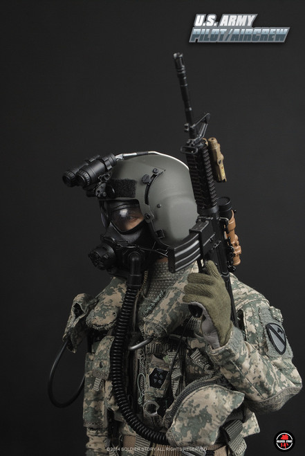 [SS-087] Soldier story Modern US ARMY Pilot Aircrew 1/6 Figure