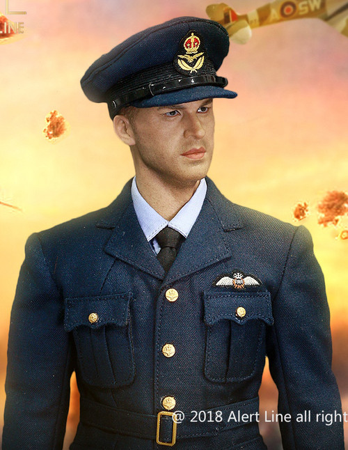 [AL-100019] Alert Line 1/6 WWII British Royal Air Force Fighter Pilot Boxed Figure