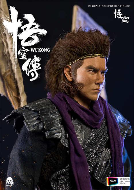 [3A-3Z0080] threezero WU KONG 悟空 Standard Version 1/6 Collectible Figure