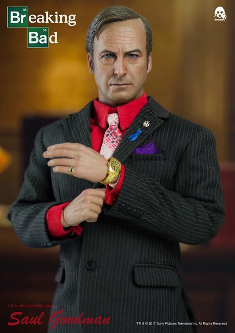 [3A-3Z0027] AMC threezero Breaking Bad Saul Goodman 1/6 Collectible Figure