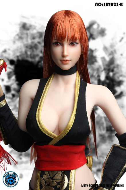 [SUD-SET023B] Super Duck 1/6 Fighting Girl 2.0 in Black for Female Figures