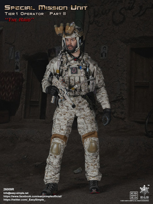 [26009R] Easy&Simple 1/6 Special Mission Unit SMU Tier-1 Operator Part III The Raid