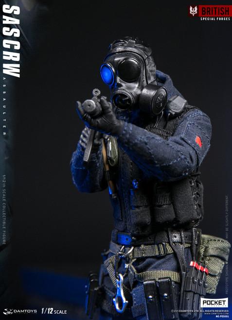[DAM-PES001] DAM Toys 1/12 Pocket Elite Series SAS CRW Assaulter Action Figure