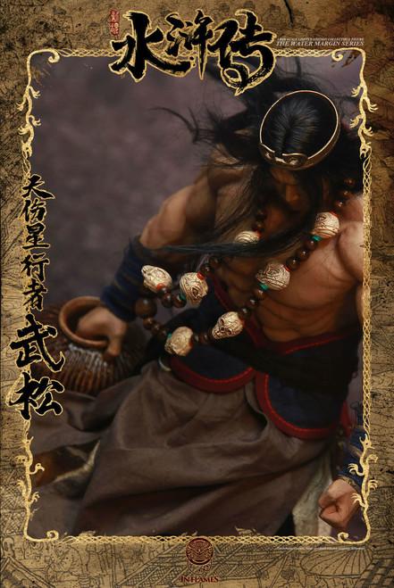 [IFT-029] Inflames  X Newsoul Water Margin Skywalker Wu Song Collectible Figure Standard Version