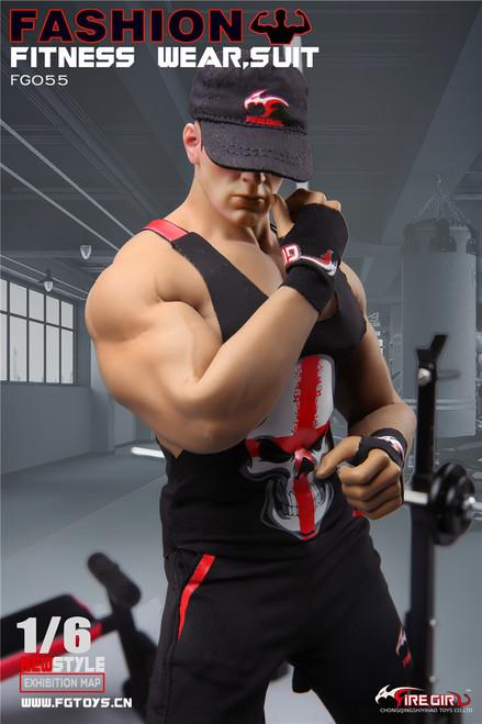 [FG-055] Fire Girl Toys Fashion 1/6 Male Fitness Wear