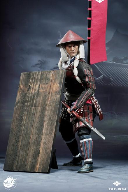 [POP-W004B] POPTOYS 1/6 Ashigaru-Spear Deluxe Version Japanese Foot Soldier