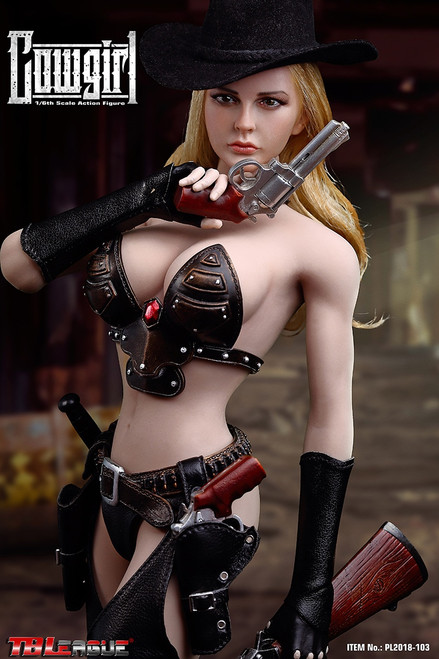 [PL2018-103] TBLeague American West Cowgirl 1/6 Scale Female Action Figure