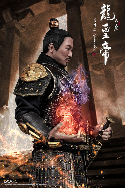 [MIV-1801] MIVI Pro+ China Empire Emperor Dragon 1:6 Boxed Figure