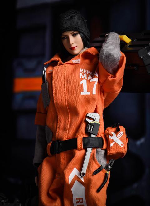 [VST-18XG15B] VS Toys 1/6 Female Repairman Costume Tight Fit
