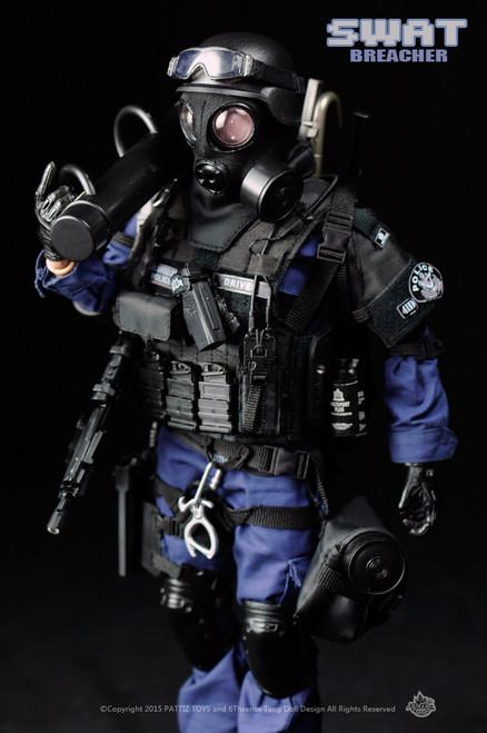 [KH-NX01] KAD Hobby Pattiz 1/6 SWAT Breacher Boxed Figure