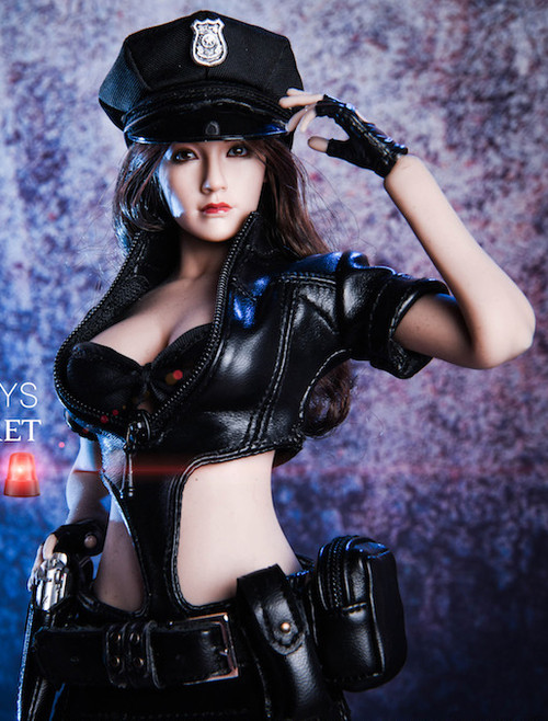 [VST-18XG16A] VS Toys 1/6 Black COS Policewoman Uniform