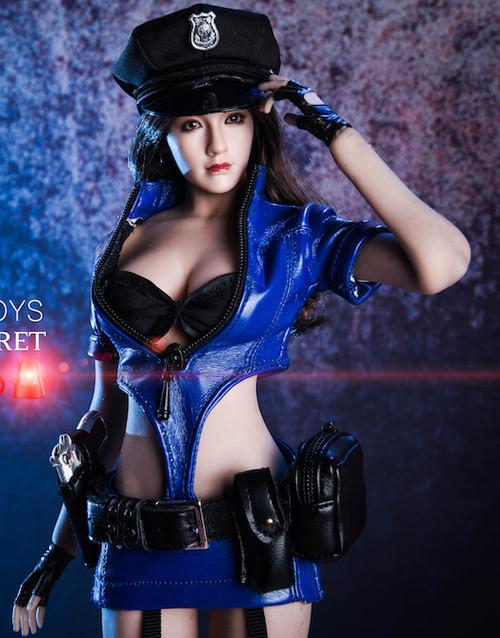[VST-18XG16B] VS Toys 1/6 Blue COS Policewoman Uniform