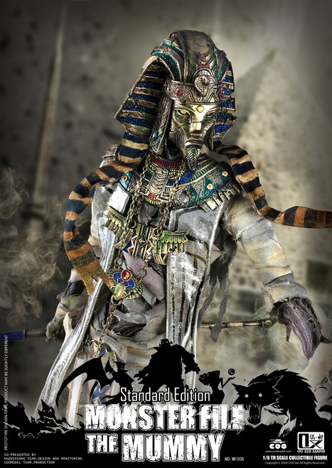 [CM-MF008] COO Model X Ouzhixiang Monster File Series 1:6 Mummy Standard Edition