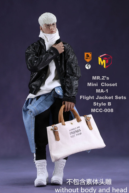 [MC-008] Super MC Toys 1/6 Flight Jacket Clothing Set B
