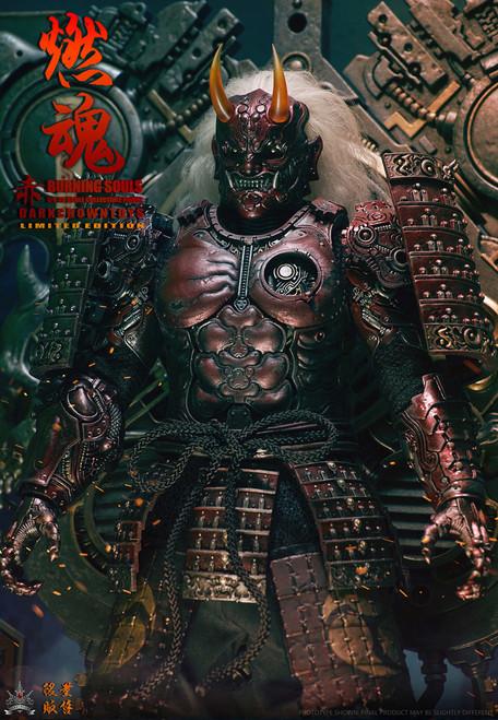 [DB-91802] DarkCrownToys 1:6 Burning Souls Crimson US Version Collectibles Figure