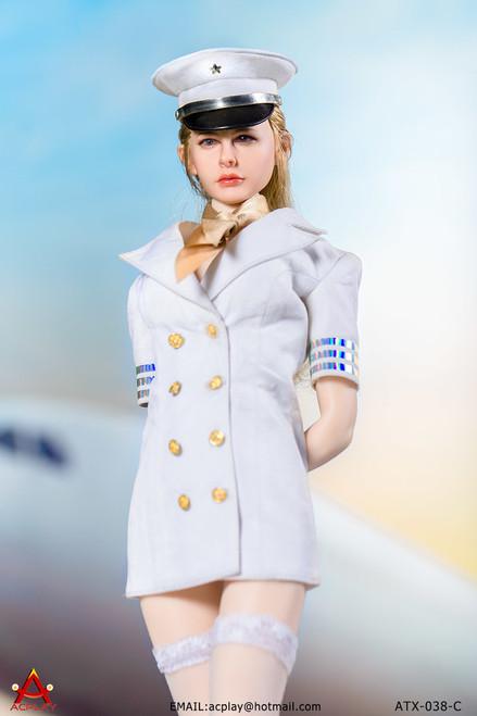 [AP-ATX038C] ACPLAY 1/6 White Flight Attendant Dress