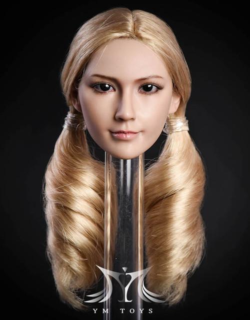[YMT-10B] YM Toys 1/6 Female Head with Blonde Hair