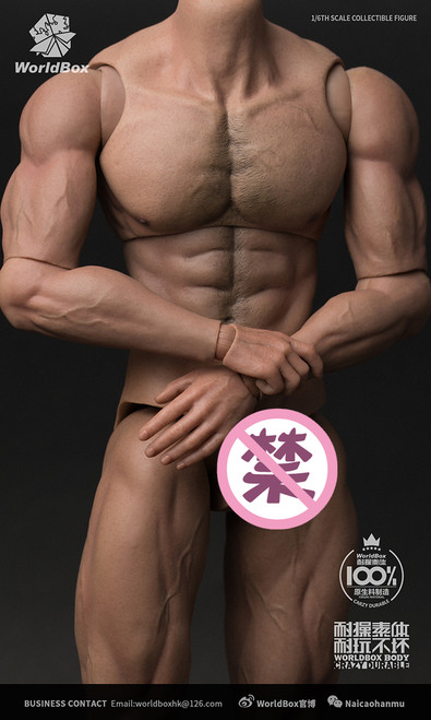 [WB-AT027] World Box 1/6 Durable Action Figure Body Ripped