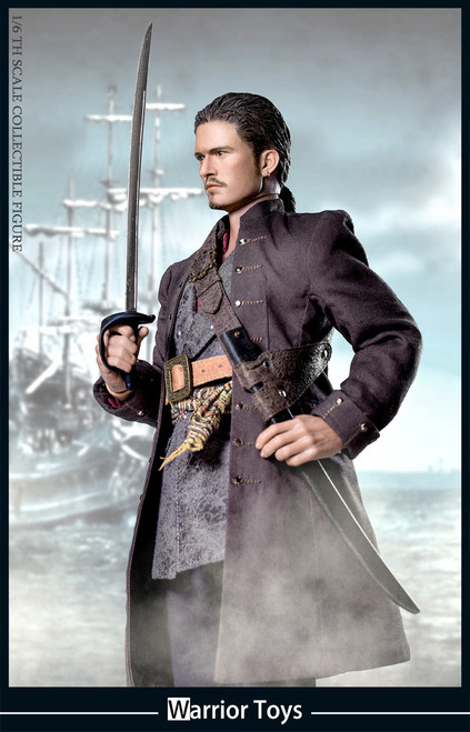 [WT-001] Warrior Toys Pirate Captain 1/6 Boxed Figure