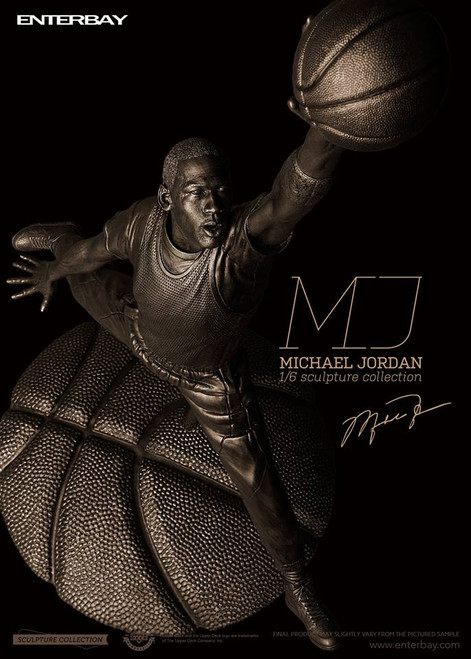 [MIV-1802] Enterbay 1/6 Scale Michael Jordan Sculpture Statue Limited Edition