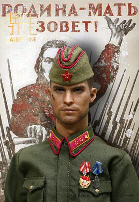 [AL-100023] Alert Line 1:6 WW2 1942 Red Army Infantry Lieutenant Officer Set