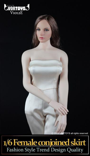 [VOR-1012E] VORTOYS 1/6 Women's One Piece Culottes in Beige