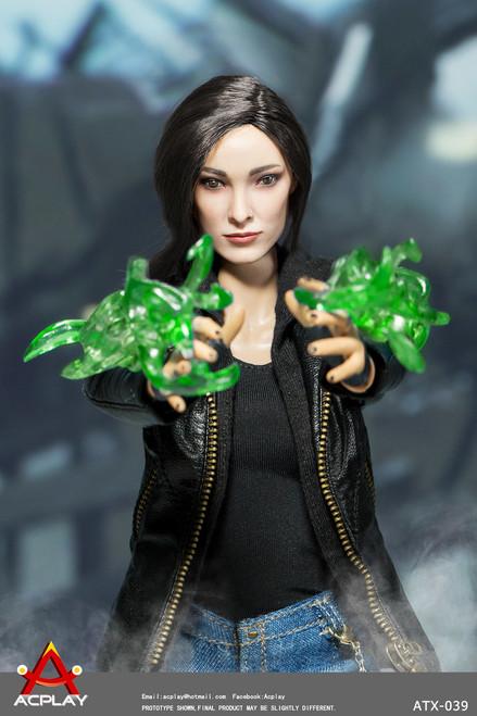 [AP-ATX039] ACPLAY 1/6 Super-Heroine Magnetic Girl Boxed Figure