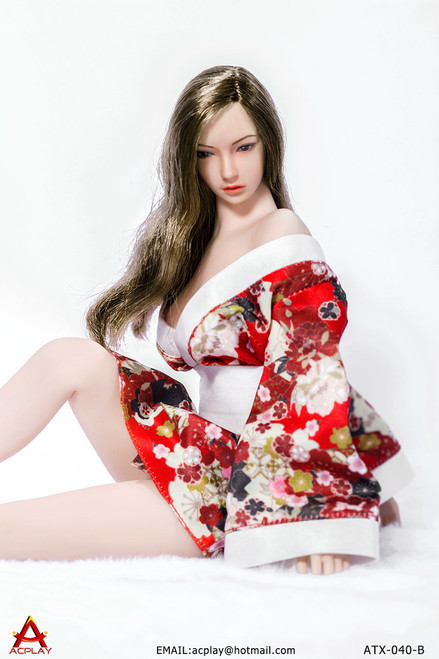 [AP-ATX040B] ACPLAY 1/6 Kimonos Dresses for Women Figures