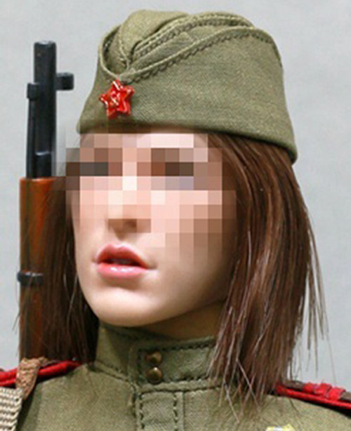 [AL-100020FC] Alert Line 1:6 WWII The Soviets Female Soldier Forage Cap