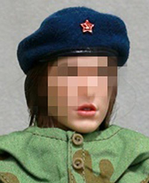 [AL-100020B] Alert Line 1:6 WWII The Soviets Female Soldier Beret
