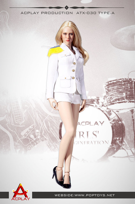 [AP-ATX030A] ACPLAY 1:6 Lady Girls' Generation Uniform in White