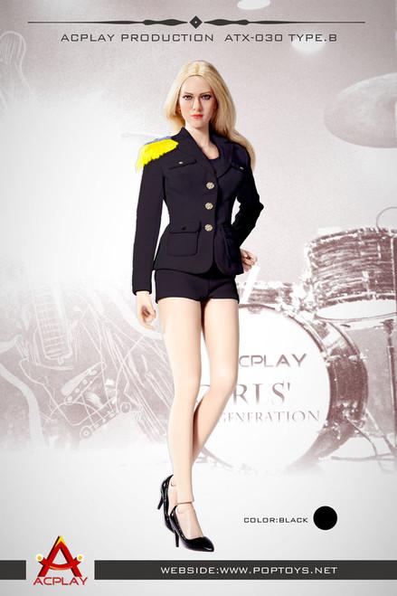 [AP-ATX030B] ACPLAY 1:6 Lady Girls' Generation Uniform in Black