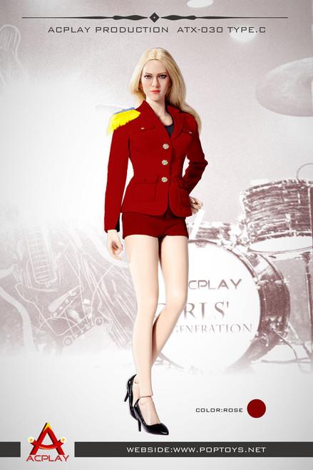 [AP-ATX030C] ACPLAY 1:6 Lady Girls' Generation Uniform in Red