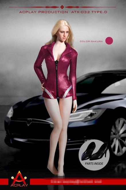 [AP-ATX032D] ACPLAY 1:6 Sakura Racing Girl Outfit for Female Figures
