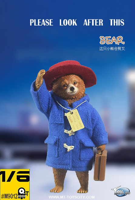 [TC-M9012] 1:6 Please Look After This Bear Peruvian Bear