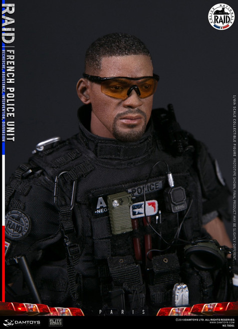 [DAM-78061] 1/6 FRENCH POLICE UNIT RAID IN PARIS Action Figure by DAM Toys