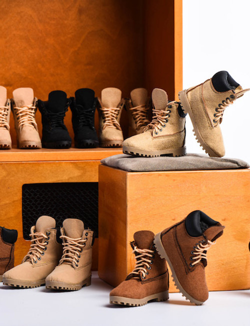 [VST-18XG23] 1/6 Female Mountain Boots by VS Toys